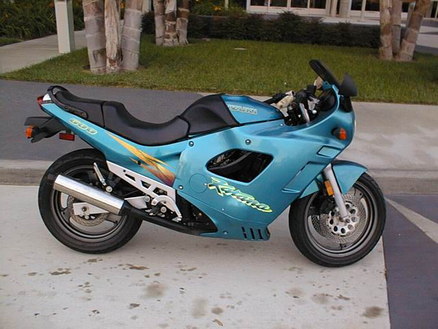 GSX600FT 1996 breaking for spares