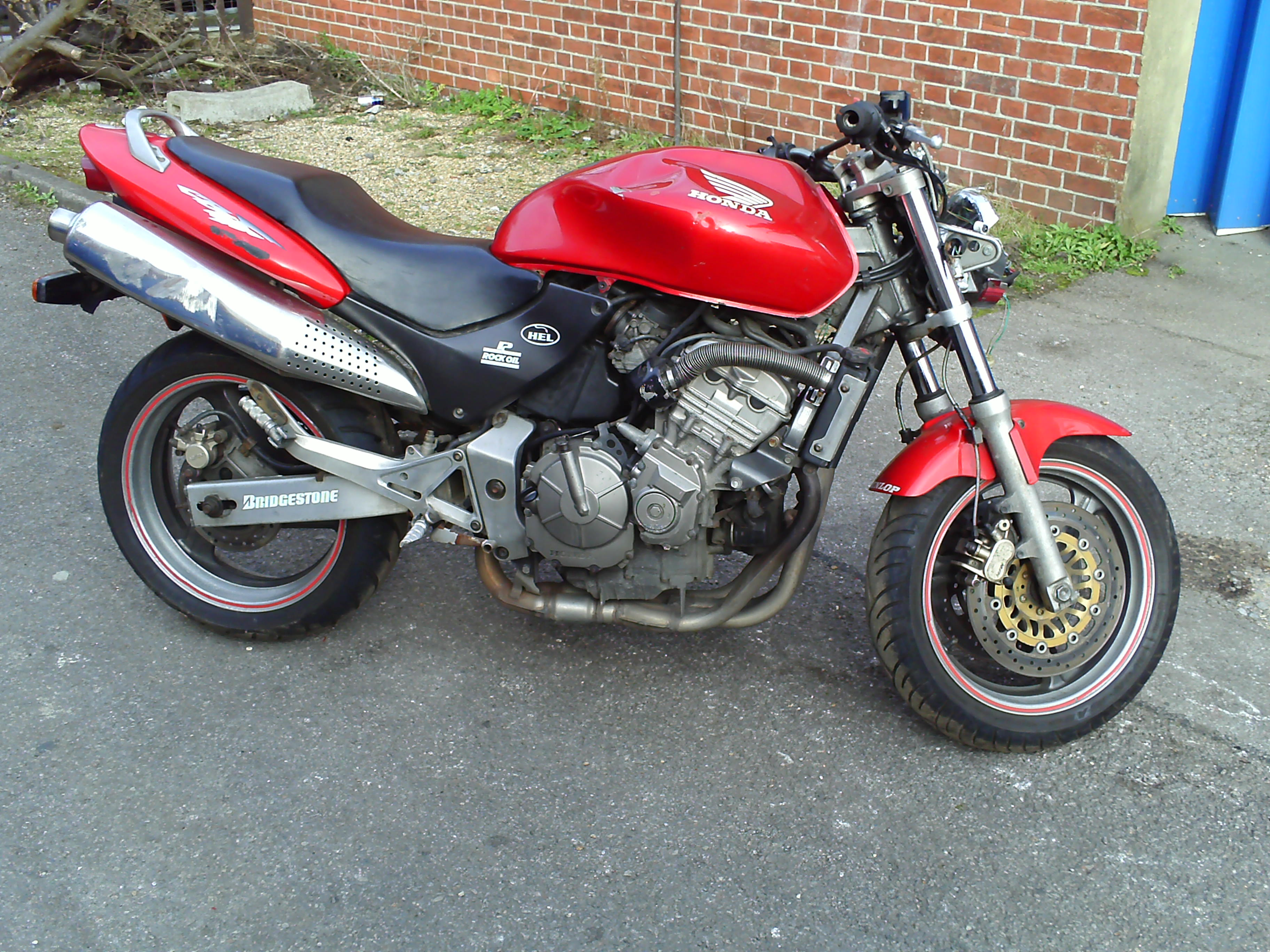 Details about 1999 honda cb600 fx hornet starter motor cb 600 f cb600f